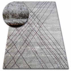 Килим SHADOW 9367 сірий / ліла