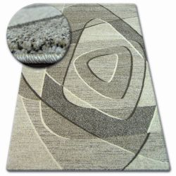 Alfombra SHADOW 8594 crema/beige oscuro
