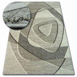 Teppich SHADOW 8594 creme / dunkelbeige