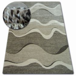 Tapis SHADOW 8649 marron / beige clair