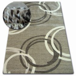 Tappeto SHADOW 8645 beige scuro / marrone