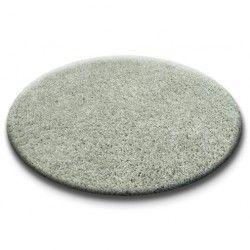Koberec kruh SHAGGY 5cm šedá