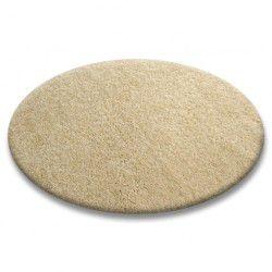 Teppich rund SHAGGY 5cm garlic
