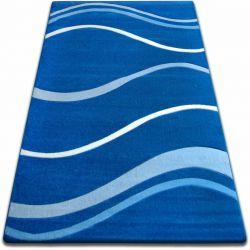 Dywan FOCUS - 8732 niebieski FALE LINIE