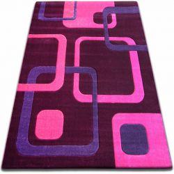 Teppich FOCUS - F240 violett QUADRATE