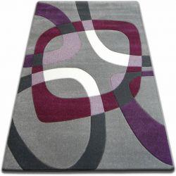 Carpet FOCUS - F242 gray SQUARE grey violet