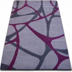 Килим FOCUS - F241 сірий фіолетовий