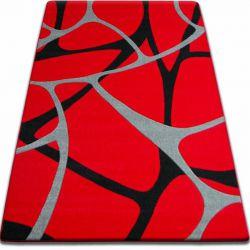 Alfombra FOCUS - F241 rojo Red Nervadura