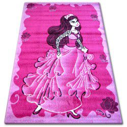 Carpet PILLY 6362 - fuchsia/cream