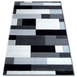 Covor Pilly H201-8403 - negru si argintiu