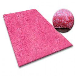 Shaggy szőnyeg szőnyegpadló 5cm rózsaszín