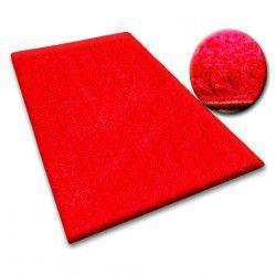 Ковролин SHAGGY 5 см красный
