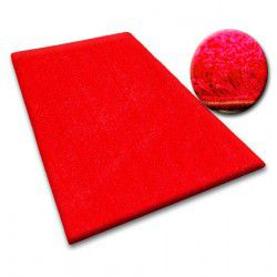 Passadeira SHAGGY 5cm vermelho