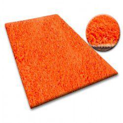 Carpet - wall-to-wall SHAGGY 5cm orange
