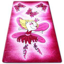 Килим дитячий HAPPY C123 рожевий