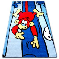 Alfombra infantil HAPPY C176 azul Mono