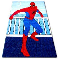 Carpet children HAPPY C098 blue Spiderman