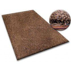Tapis SHAGGY 5cm marron