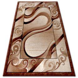 Carpet heat-set KIWI 4622 brown