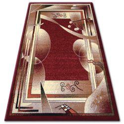 Teppich heat-set PRIMO 5741 rotwein