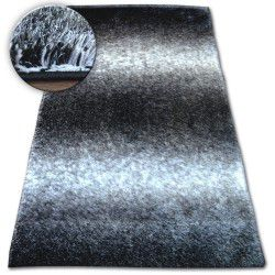 Carpet Shaggy SPACE 3D B315 black/grey