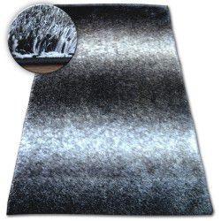 Koberec Shaggy SPACE 3D B315 černá/šedá