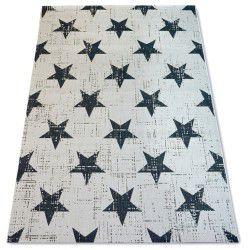 Килим шнуровий SIZAL FLAT 48648/927 зірки