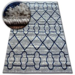 Tapis SHADOW 9496 gris clair / blanc